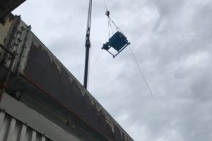 Installation of Industrial Fan on a Rooftop